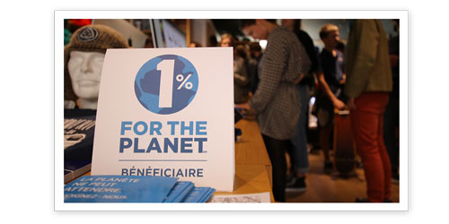 1% For The Planet Zag