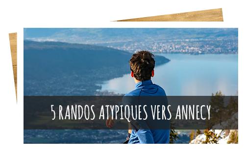 5 randos atypiques autour du lac d'Annecy