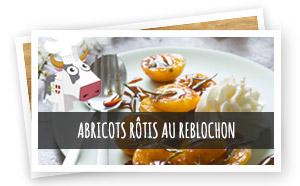 Vignette renvoi Abricots rôtis au Reblochon