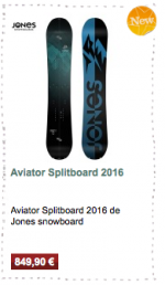 Aviator Splitboard Jones