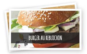Vignette Renvoi Burger au Reblochon