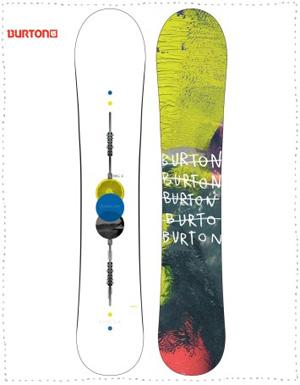Barracuda Burton Snowboard 2016