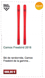 Camox Freebird Black Crows