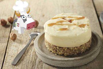 Cheesecake Reblochon-Noisette