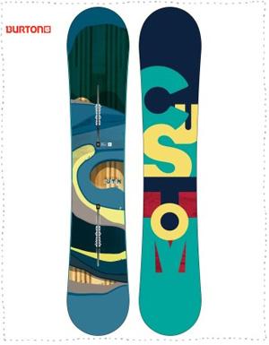 Custom Burton Snowboard 2016