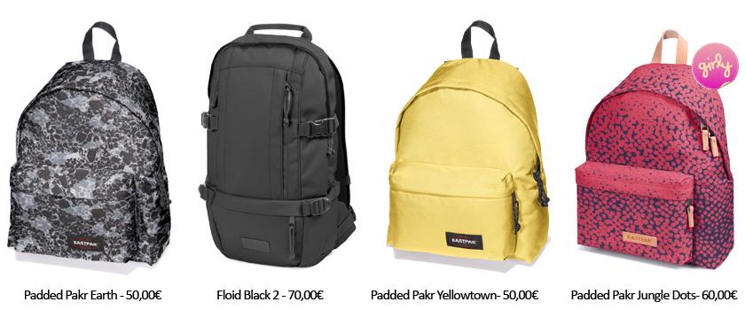 Eastpak-bags
