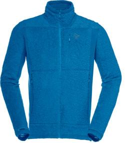 Falketind Norrona Thermal pro highloft jacket polaire homme bleu