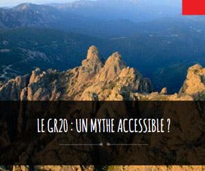 mythe accessible : GR20