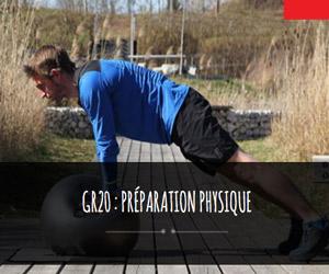 GR 20 préparation physique