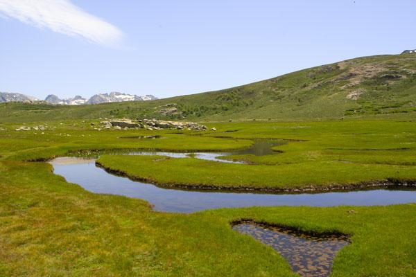 GR20 Lac de montagne