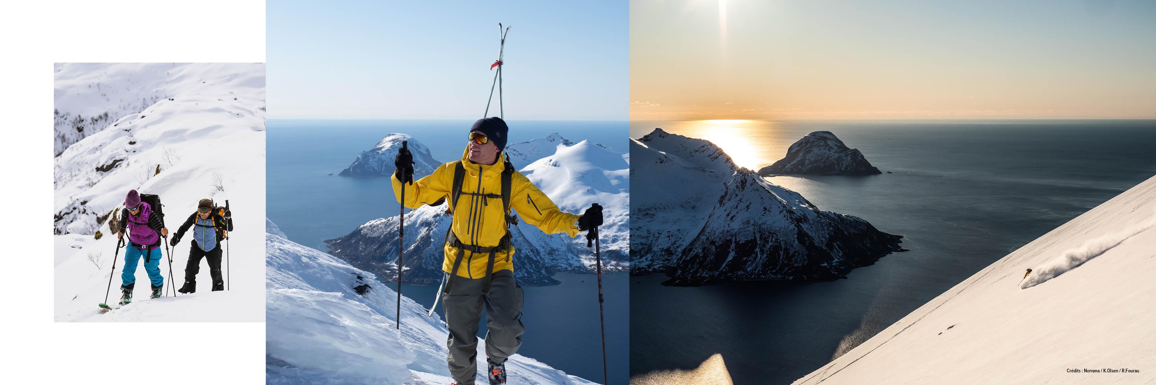 ski de rando Lofoten