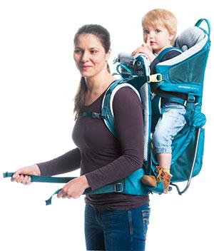 porte bébé kid comfort active femme