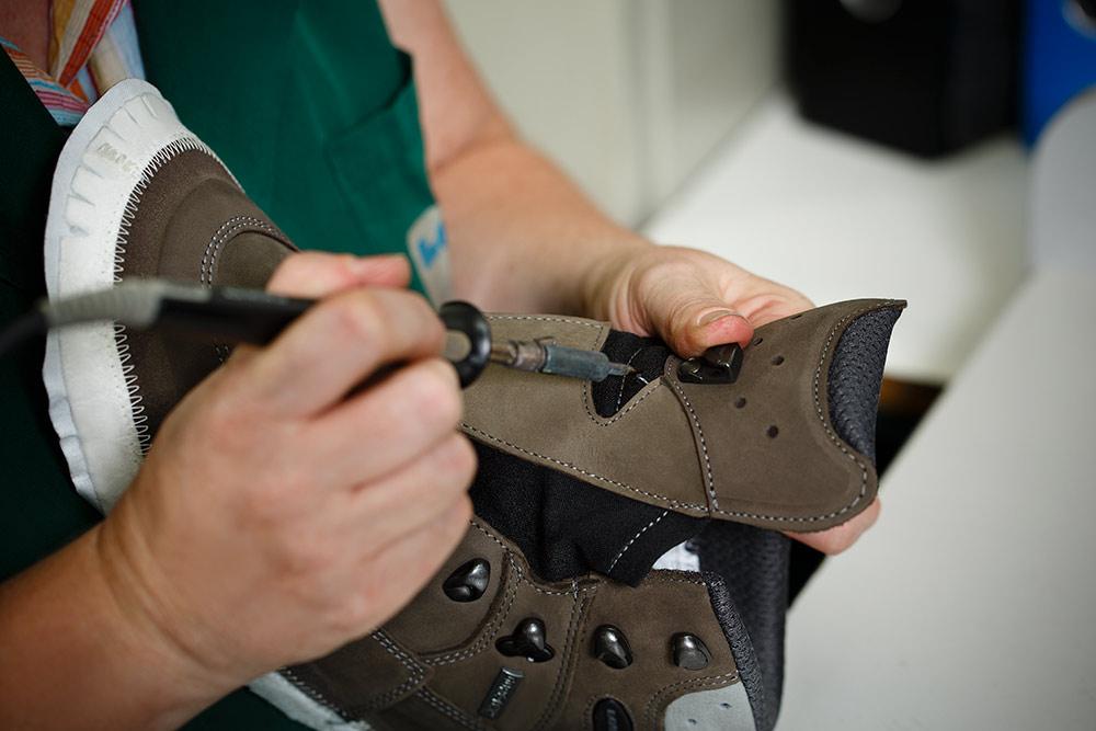 Lowa fabrication chaussures