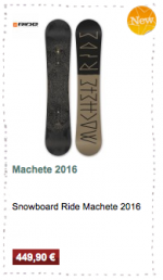 Machete Ride