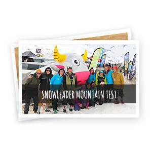 snowleader mountain test