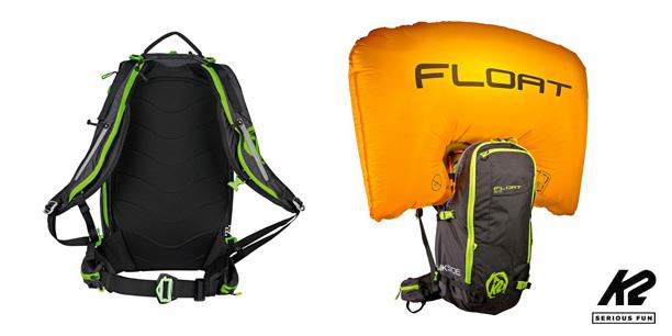 Sac airbag Backside Float 30 K2
