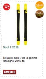 Soul 7 Rossignol