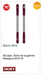 Storm Rossignol