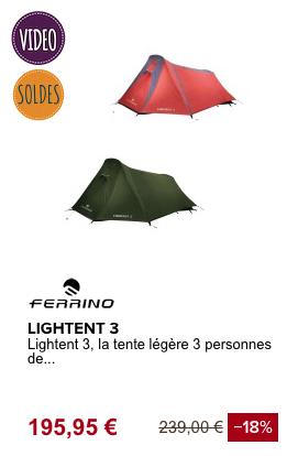 TENTE Légère_ FERRINO
