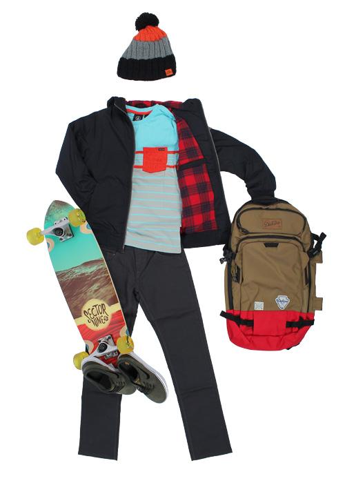 Tenue de skate garçon