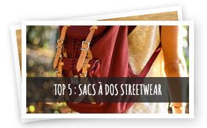 Vignette Top 5 Sac à dos Streetwear