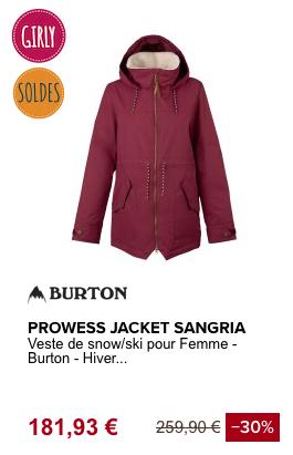 VESTE DE SNOW PROWESS_BURTON