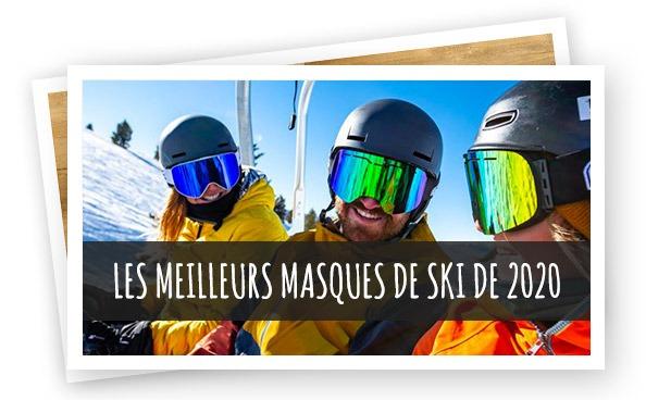 article meilleurs masques ski 2020