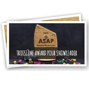 Award ASAP pour Snowleader