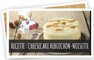 Blog Snowleader : Recette cheesecake Reblochon-Noisette