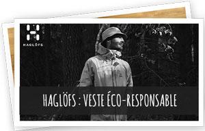 Blog Snowleader - Haglofs :  veste éco-responsable