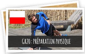 GR20 préparation physique