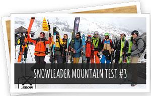 Blog Snowleader : Snowleader Mountain Test 3
