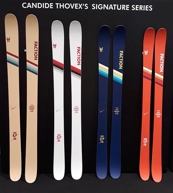 Candide Thovex skis Faction