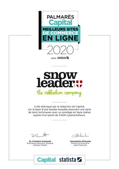 Certificat Capital Snowleader