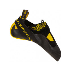 Chausson d'escalade Theory Black Yellow - La Sportiva