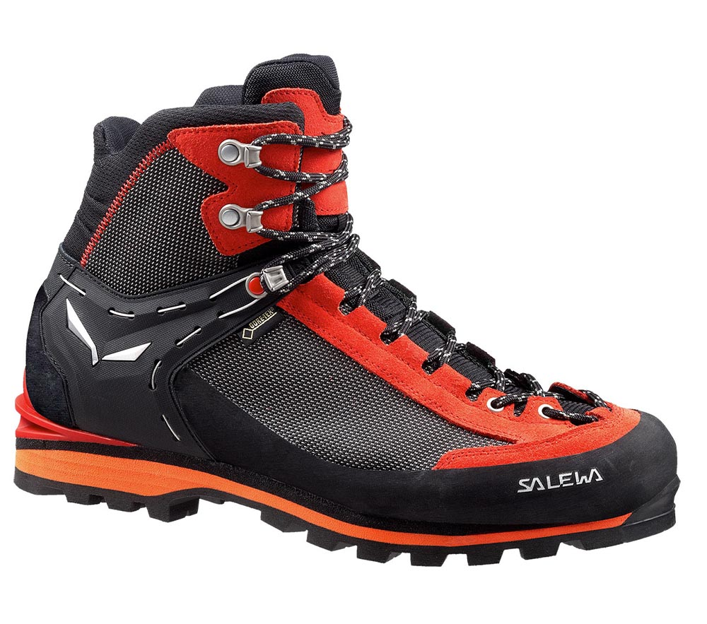 MS Crow GTX Black/Papavero - Salewa