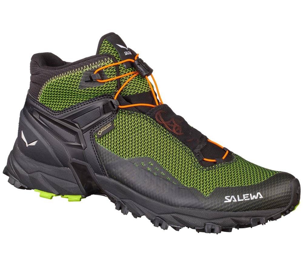 Ms Ultra Flex Mid GTX Cactus/Fluo Orange - Salewa