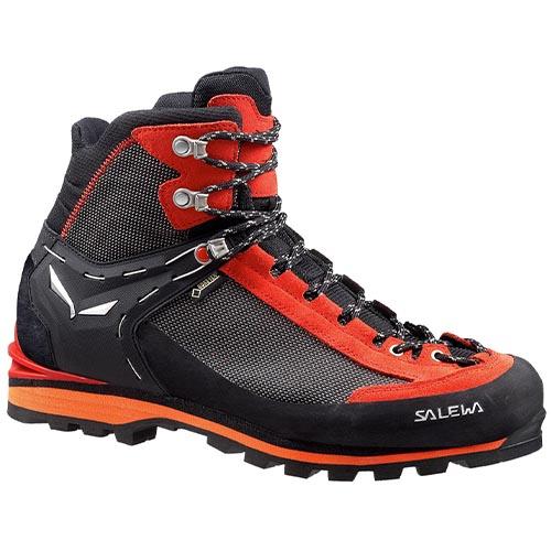 Chaussure de randonnée MS Crow GTX Black/Papavero - Salewa