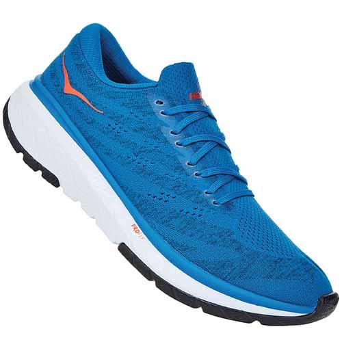 chaussure trail hoka cavu 3 imperial blue