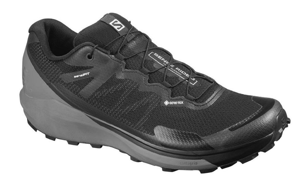 Chaussure Trail  Salomon Sense Ride 3 GTX Black