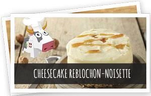 Blog Snowleader - Cheesecake Reblochon-noisette recette