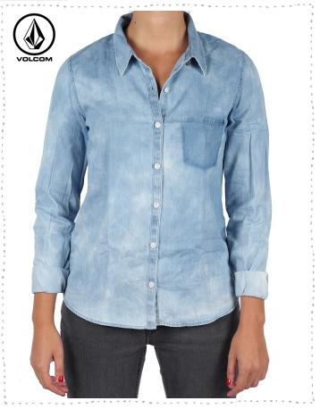 chemise femme volcom