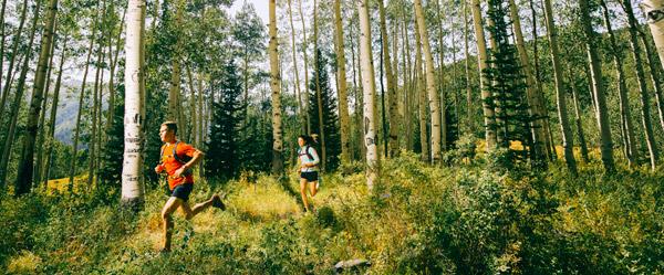 Columbia trail running