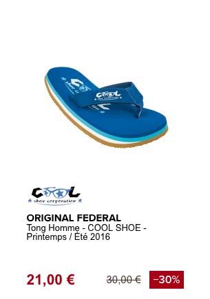 coolshoe original federal tong de plage
