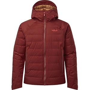 Doudoune Technique Valiance Jacket M Oxblood Red-Rab