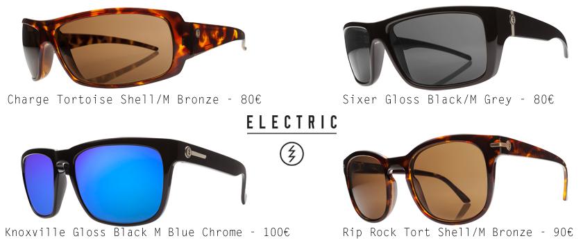 lunettes de soleil Electric, Knoxville, Rip Rock
