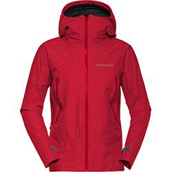Falketing Gore Tex Jacket W True Red Norrona