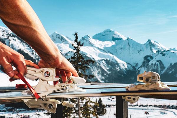 Farter des skis