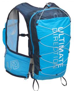 trail gilet ultimate direction bleu soldes