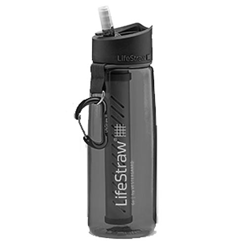 Gourde Filtrante Lifestraw Go 2 Stages Grey - Lifestraw